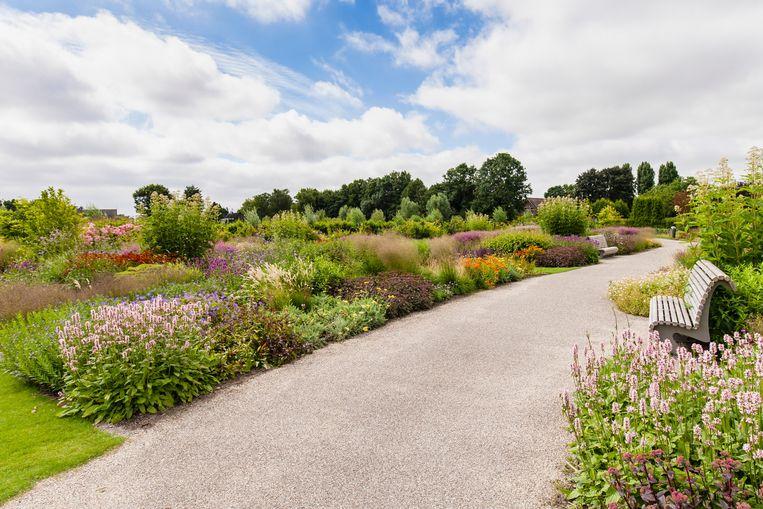Oudolfs Vlinderhof in het Utrechtse Máximapark, een van de grootste stadsparken van Nederland.   Beeld Alamy Stock Photo