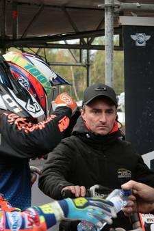 Motorcrosser Freek van der Vlist heeft duivel op zijn schouder