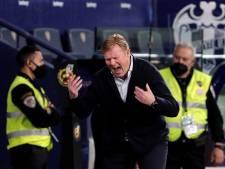 Koeman na sof met Barça bij Levante: 'Als coach ben je verantwoordelijk'