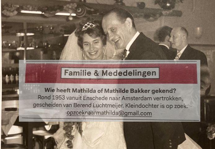 Een Amsterdamse zoekt haar oma, die in 1953 uit Twente verdween