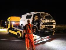 Veel schade en meerdere gewonden bij groot ongeluk op A15