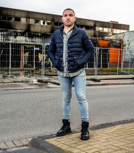 De woonwinkel van Haci (34) brandde volledig uit: 'Pijn in mijn hart, maar moet zélf weer opstaan'