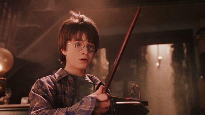Filmstill van 'Harry Potter en de Steen der Wijzen'.