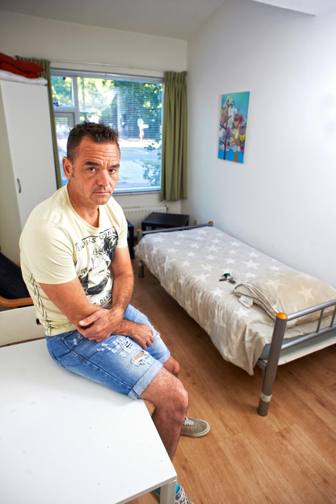 Antwan Marcé heeft een kamer in het Verdihuis te Oss en krijgt maar geen huurhuis.