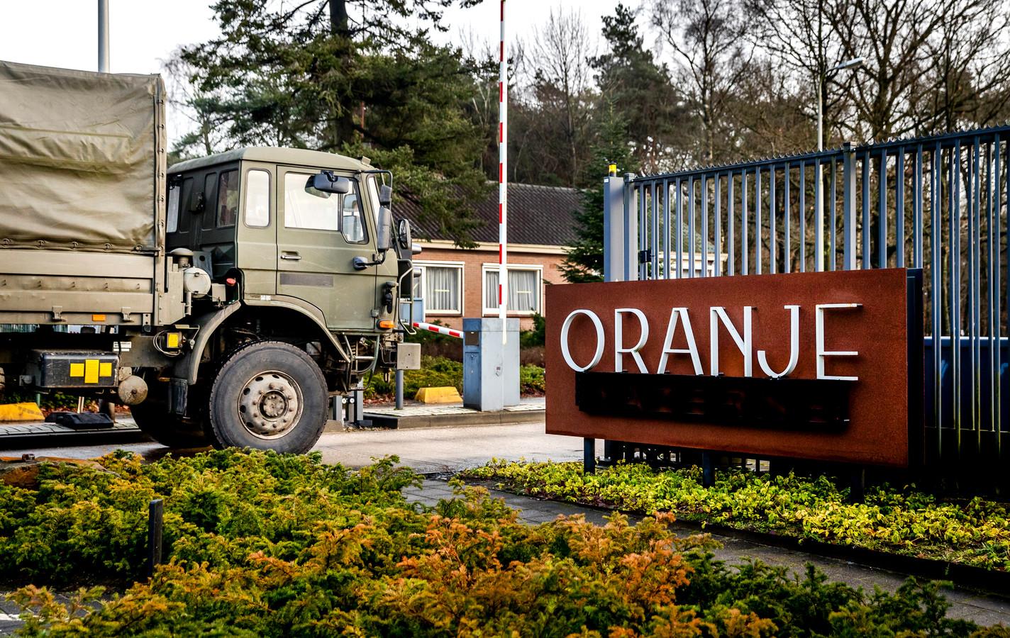 De Oranjekazerne in Schaarsbergen, foto ter illustratie,