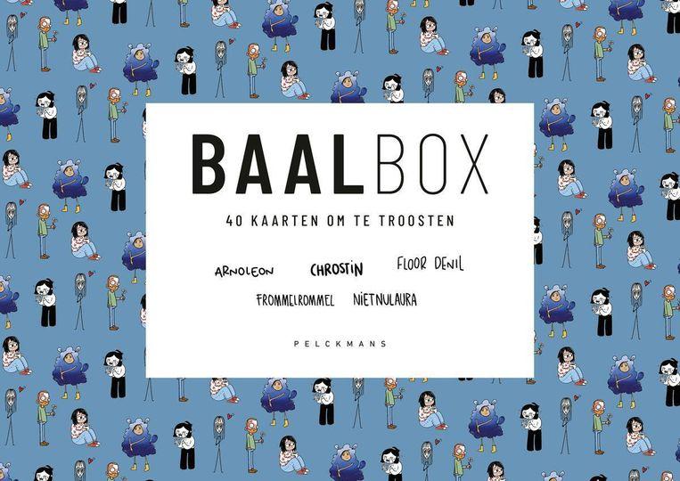 BAALbox en FEESTbox, Pelckmans Uitgevers, 25 euro. Beeld rv