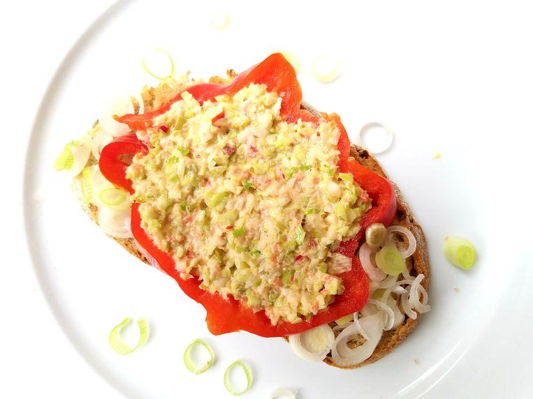 Schippers groentespread. Beeld Marie Louise Schipper