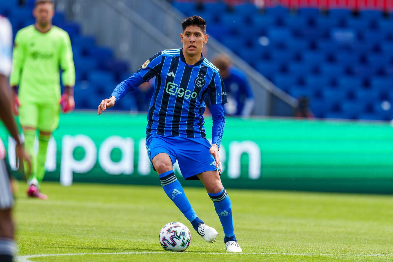 Edson Álvarez mag al een punt zetten achter zijn seizoen bij Ajax.