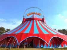 Carnaval in Uden in 2015 in circustent