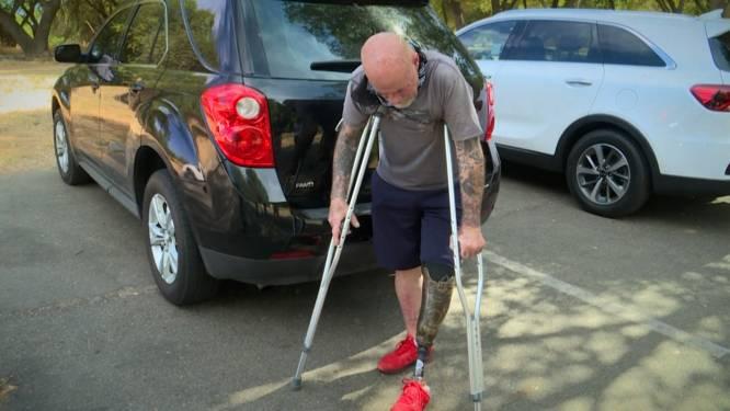 Man verliest been tijdens raften, duikers vinden zijn prothese terug