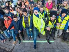 Bodegraven versiert nóg een oversteek met wereldberoemde lichtlijn