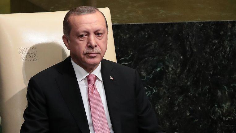 President van Turkije Recep Tayyip Erdogan Beeld afp
