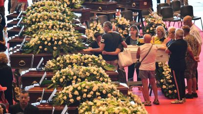 Slachtoffers geëerd met lang applaus tijdens staatsbegrafenis, dodentol loopt op tot 42
