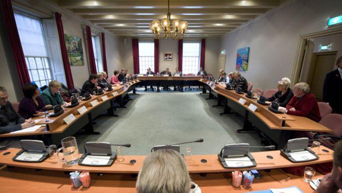 De gemeenteraad van Stichtse Vecht in zitting bijeen.