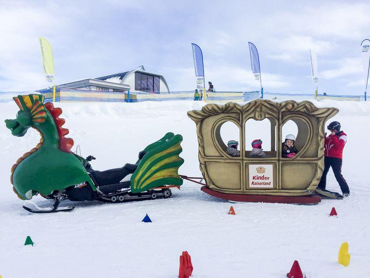 Dit is ook skiles in Scheffau, Oostenrijk. Beeld aimée kiene