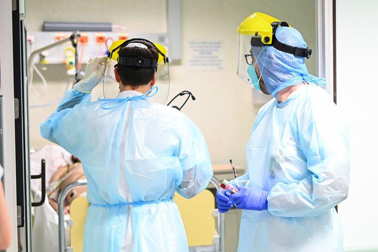 Het CHR Citadelle hospital in Luik. Beeld Photo News
