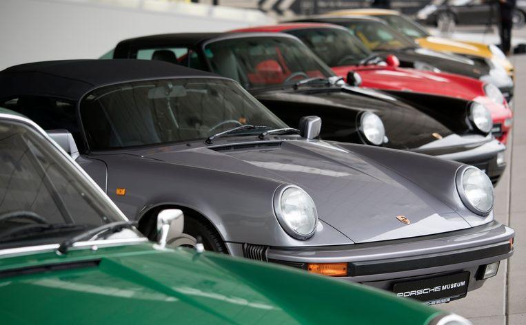 Oldtimers van Porsche
