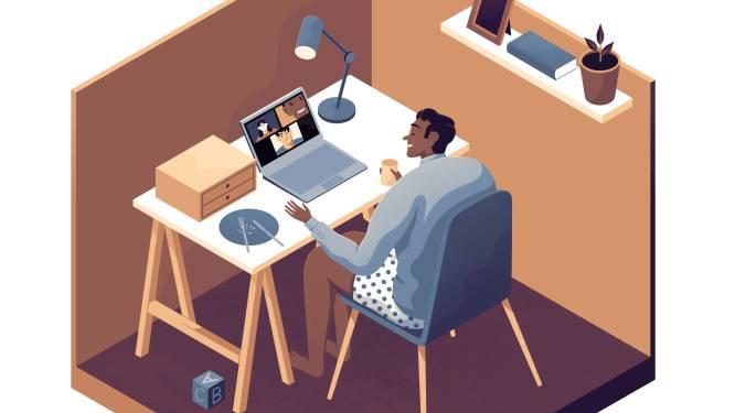 """""""Mensen zijn flexibel als het in hun voordeel is"""": bedrijven denken na over thuiswerk na corona"""
