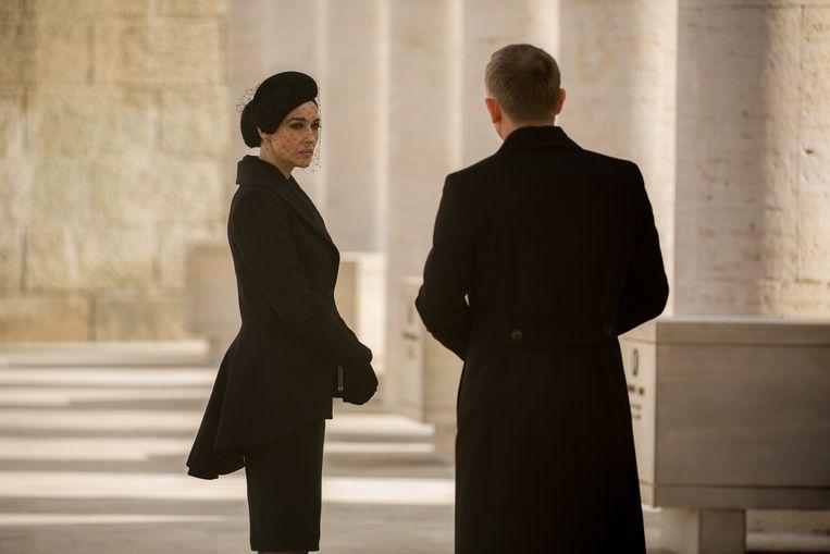 Monica Bellucci en Daniel Craig in Spectre. Beeld AP