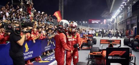 Vettel-Leclerc: premières brouilles chez Ferrari