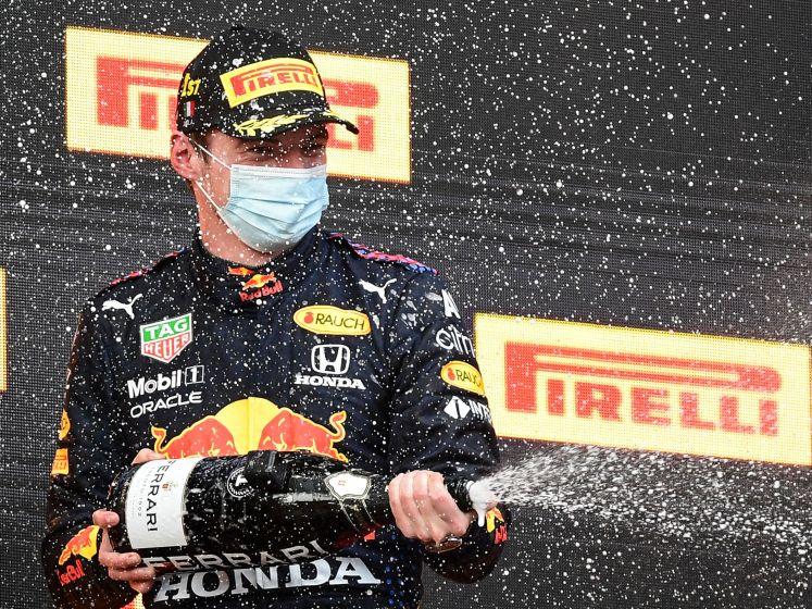 Verstappen wint GP Imola: 'dat was tricky'