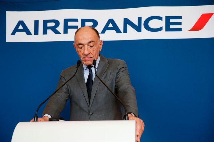 Jean-Marc Janaillac kondigde vrijdag zijn ontslag aan.