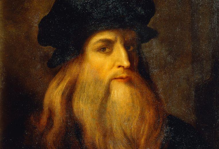 Zelfportret van Leonardo da Vinci (1452-1519) Beeld DeAgostini/Getty Images