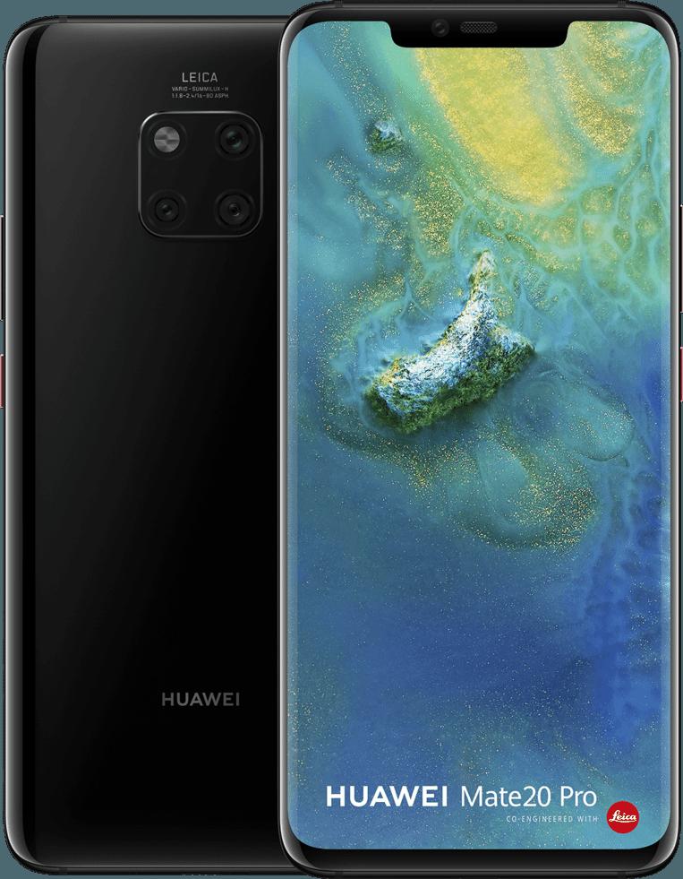 Huawei's nieuwste vlaggenschip heeft ook een prima scherm.