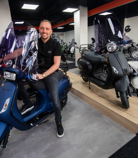 Scootermerk La Souris zit door heel het land, en nu ook in Apeldoorn