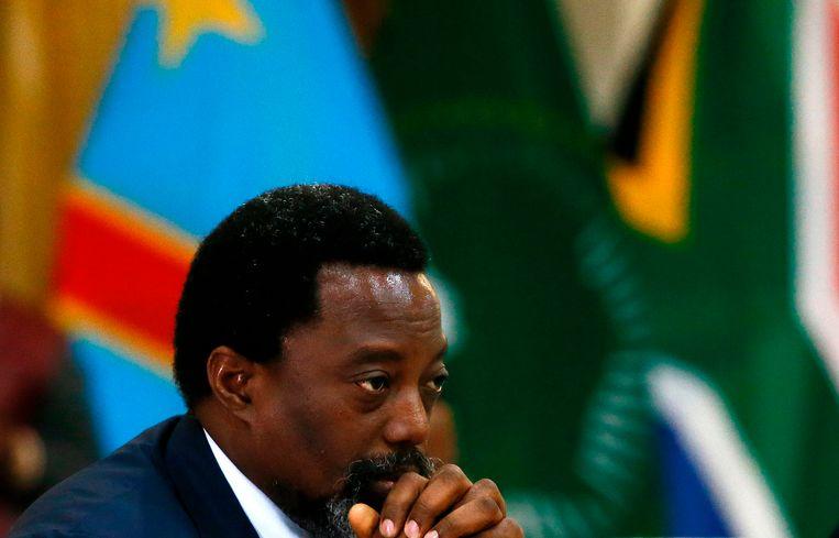 Congolees president Joseph Kabila Beeld AFP
