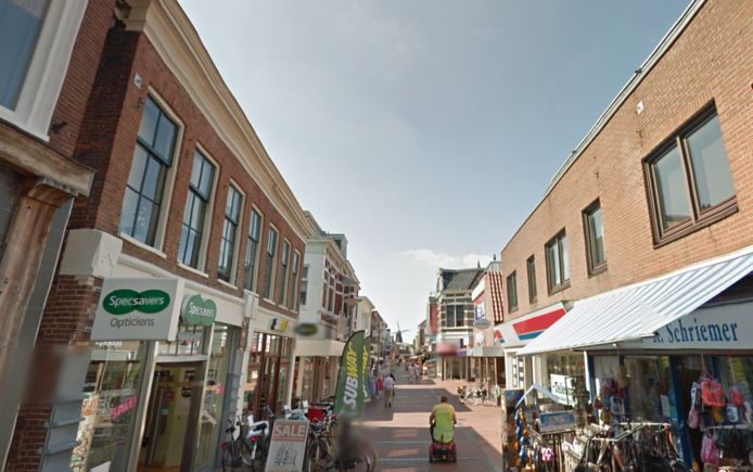 De Langestraat in Winschoten