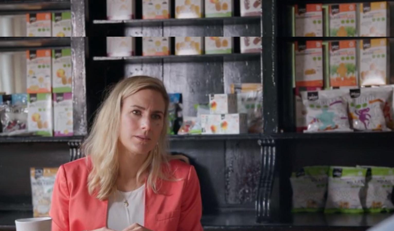 Kirsten Wegener-Toeset produceert 'gezonde' babykoeken.