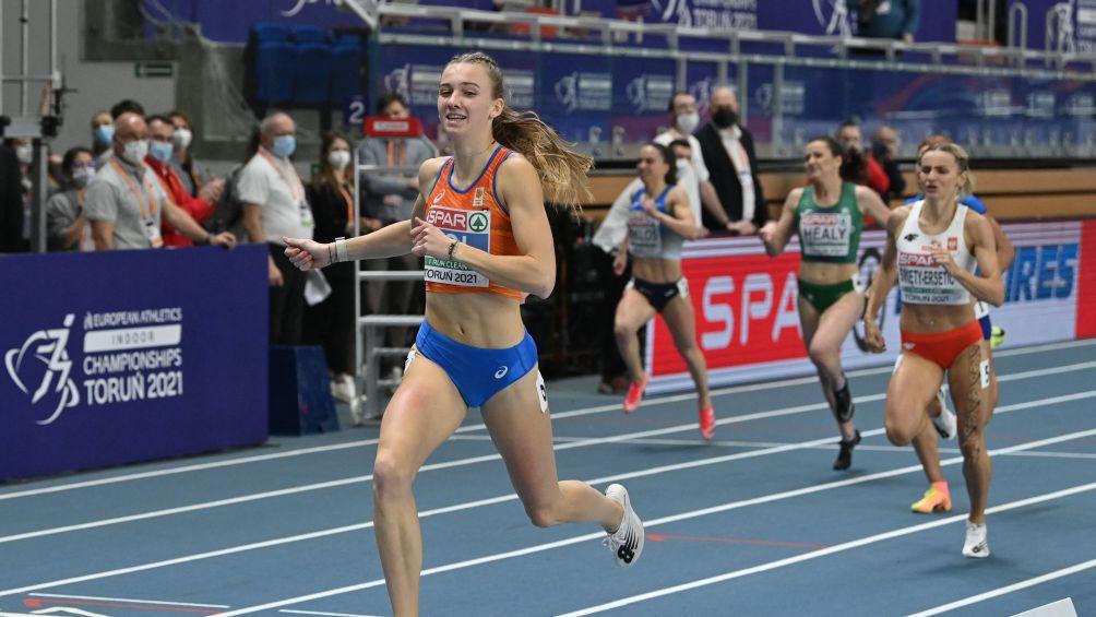 Het eindschot van Femke Bol boezemt atletiekwereld angst in