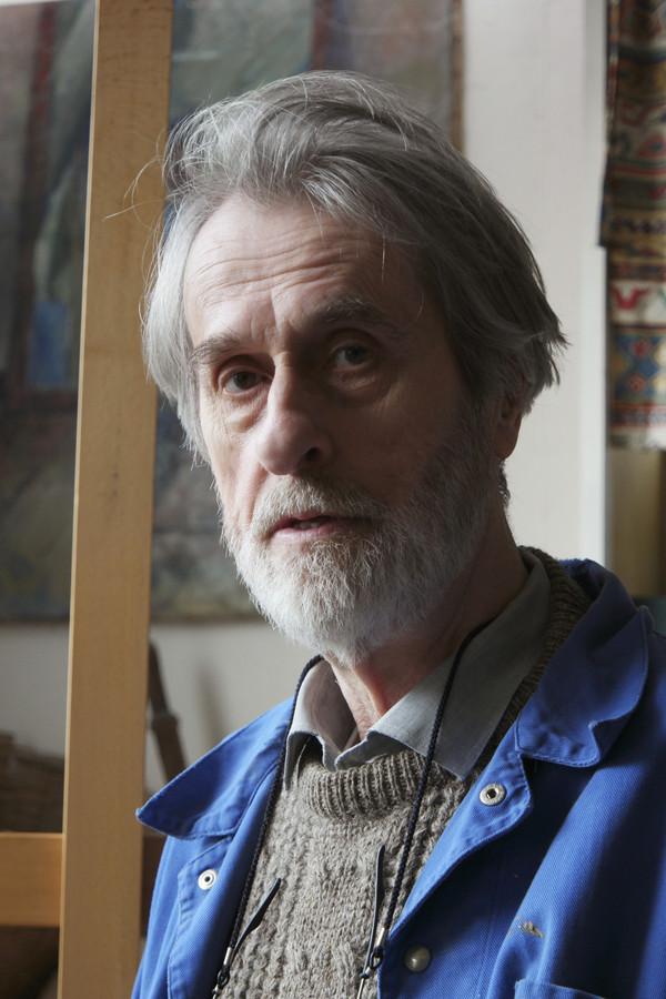 Gerard van der Leeden, de maker van het Vissersmonument in Urk