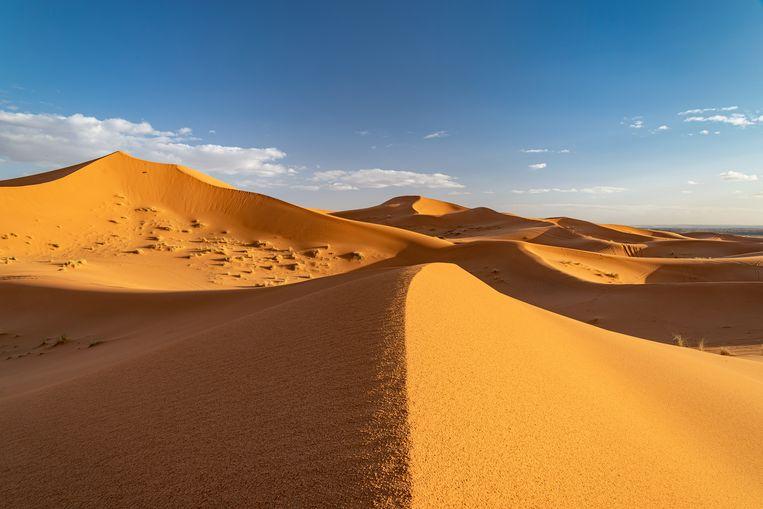 'Ooit ben ik dood, dacht ik, en zijn die duinen er nog steeds. Dat was zo'n fijne gedachte.' Beeld Getty Images