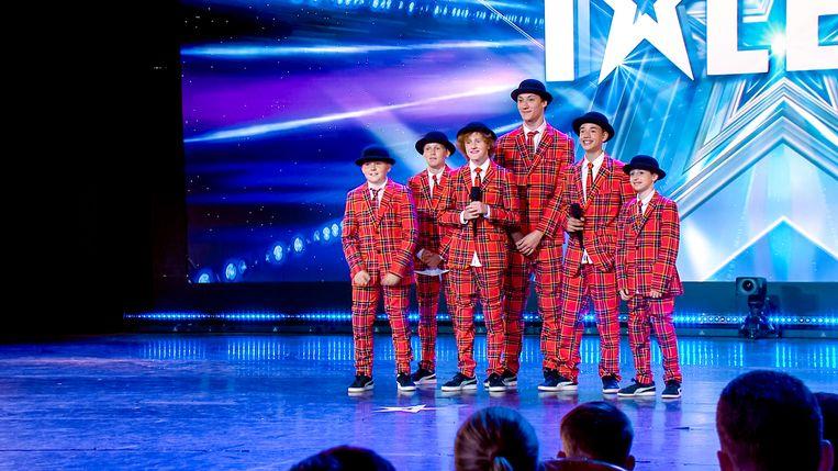 2SDC Junior Crew . Beeld Belgium's Got Talent