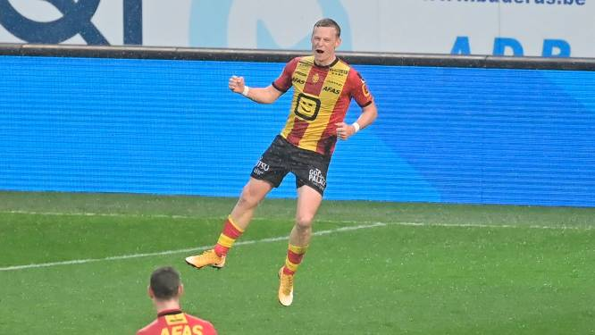 """Nikola Storm (KV Mechelen) scoort twee keer tegen Zulte Waregem: """"Altijd in mezelf blijven geloven"""""""