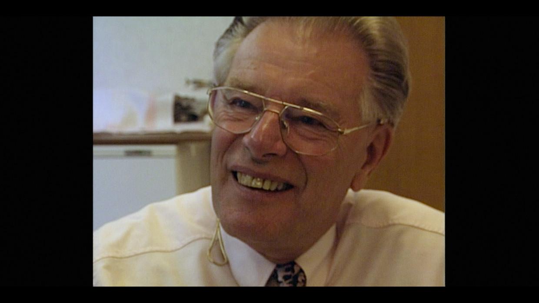 De inmiddels overleden vruchtbaarheidsarts Jan Karbaat, die zijn eigen sperma gebruikte in zijn kliniek en daardoor zeker zo'n zeventig onwettige kinderen heeft voortgebracht. Beeld Guttman