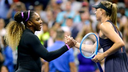 Serena Williams slacht Sharapova in minder dan uurtje af