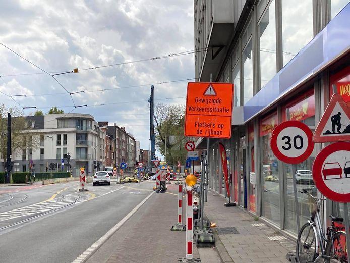 De verkeerslichten zijn al stuk sinds donderdagochtend