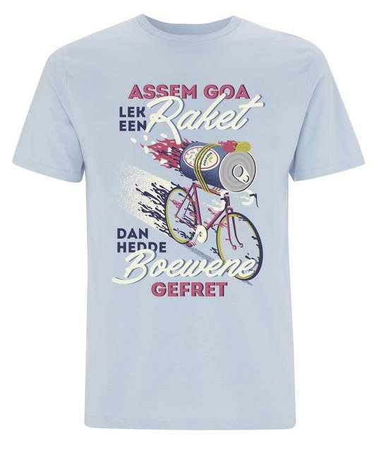 Het t-shirt.