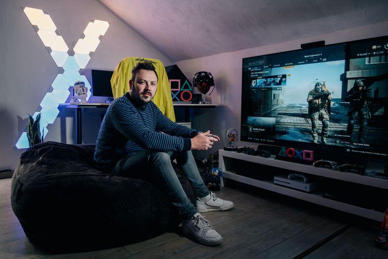 Ben Allossery, hoofdredacteur van het gameplatform 'Invader':