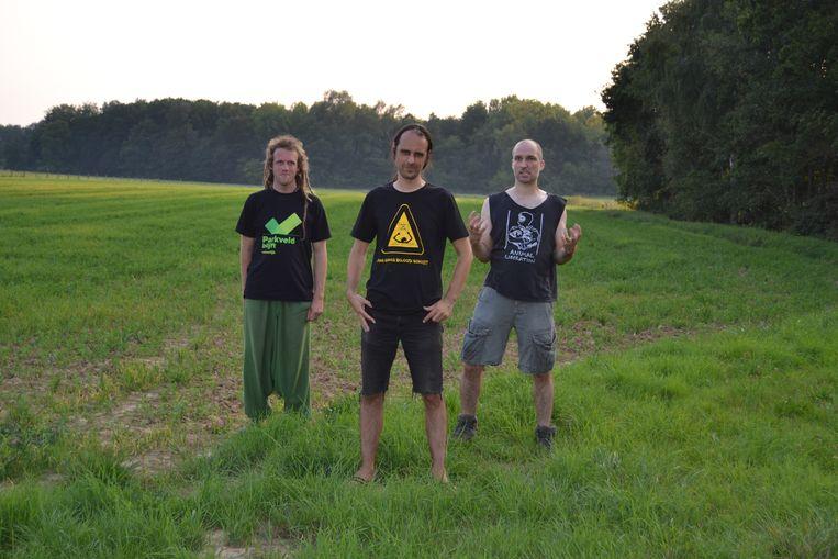 De Leuvense band Donder, Hel & Hagel lanceert een eerste album.