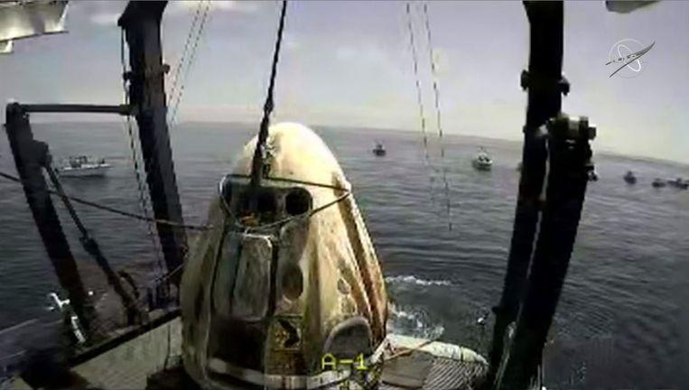 De SpaceX Dragon Crew. Beeld AFP