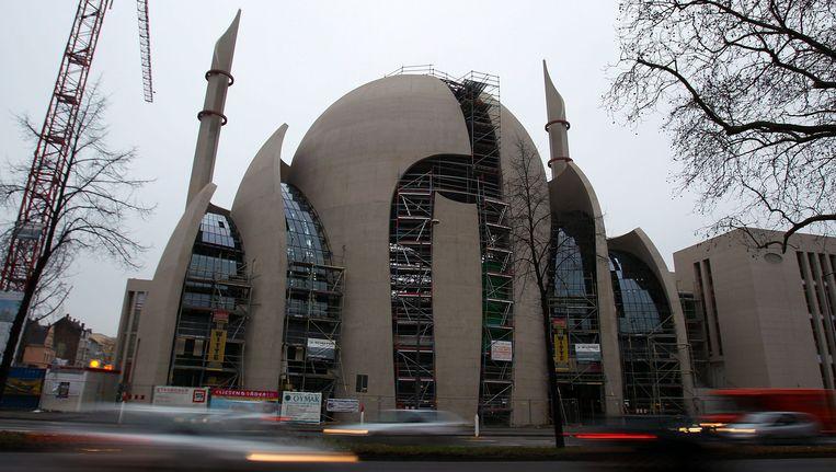Een moskee in Keulen. Beeld EPA