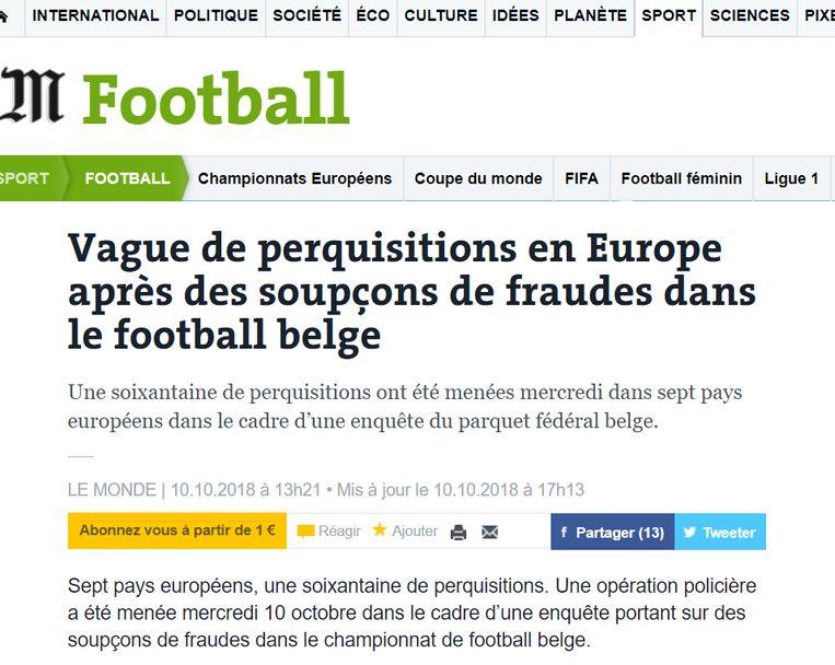null Beeld Le Monde