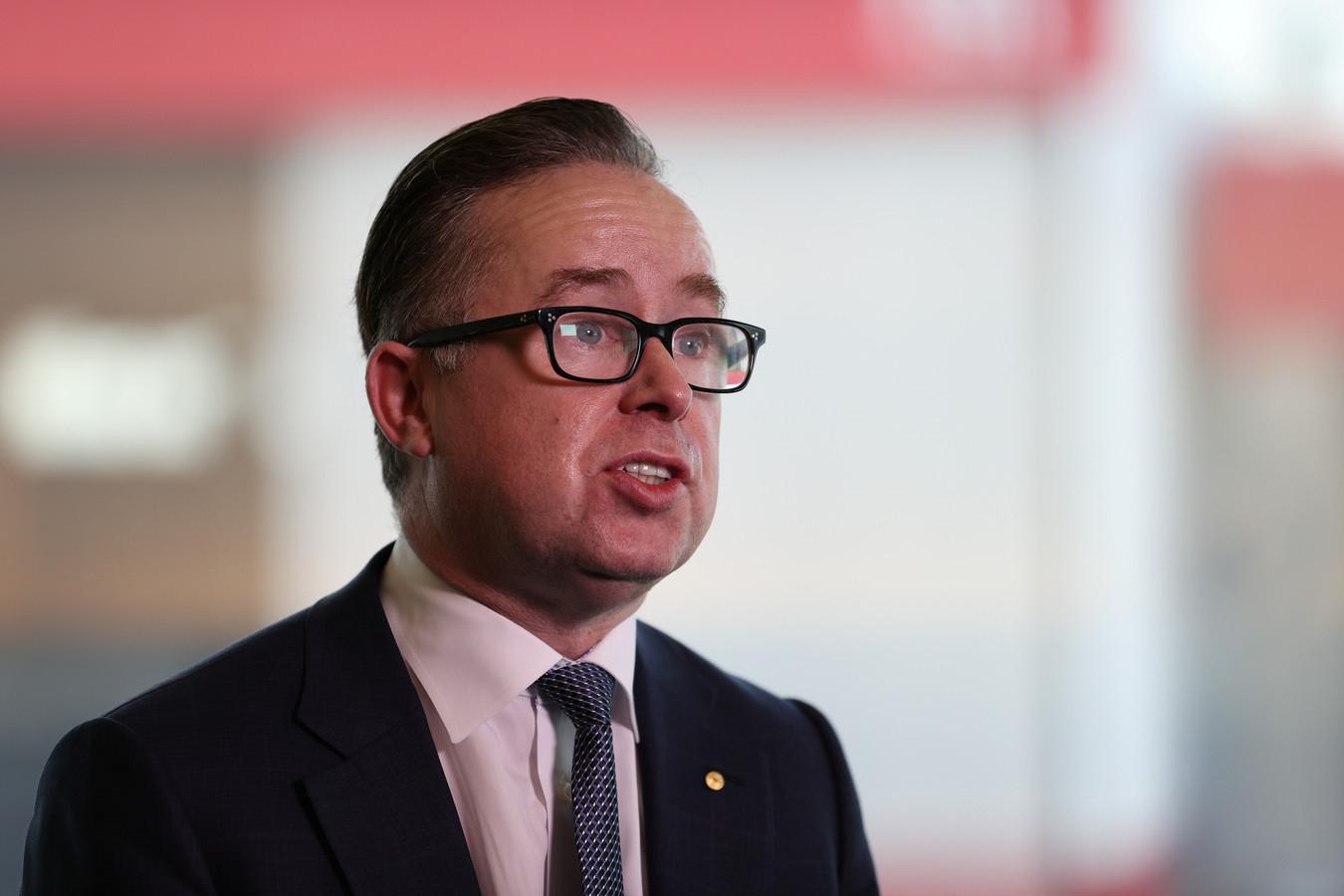 Alan Joyce, CEO van Qantas.