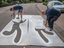 Meer straatgraffiti in Cuijk in strijd tegen hardrijders