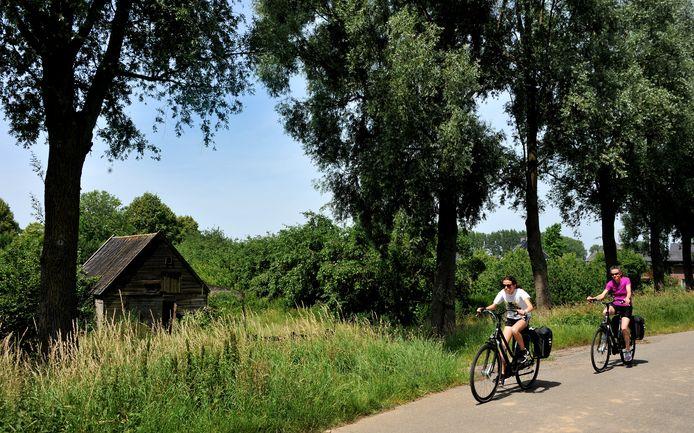 De boomgaard aan de Oudendijk in Dordrecht.