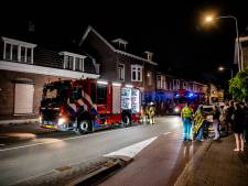 Brand in woning Tilburg, hondje gered door brandweer
